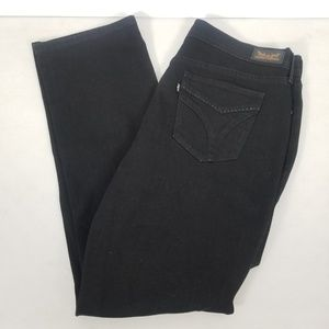 Levi's Jeans - Levi's 516 Straight Women Black Denim Size  32x32
